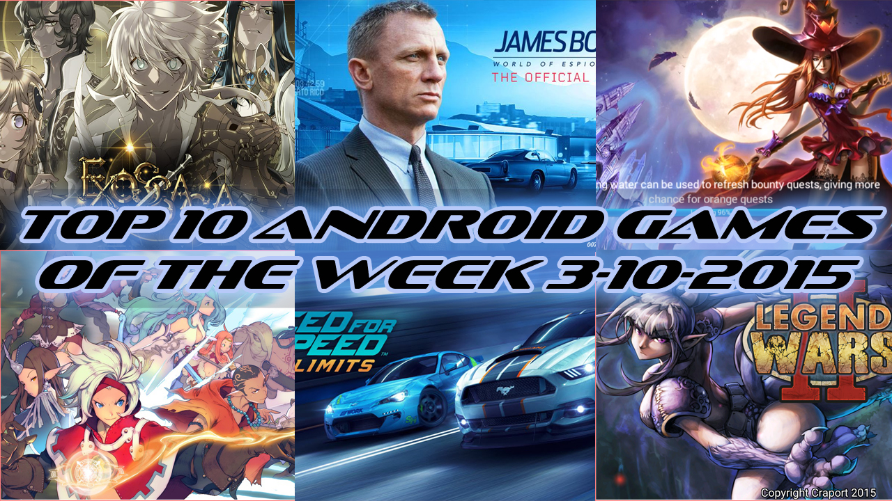 TOP 10 BEST NEW ANDROID GAMES OF THE WEEK - 3rd October 2015