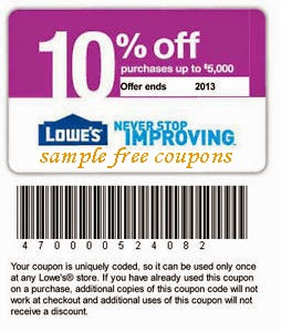Your best Lowes discounts have always been the price match and the military discount. But tell Lowes to bring the coupon back! It was one of the best incentives to make a big purchase at Lowes. You can still get 5% off everyday when charged to a new Lowe's Consumer Credit Card. No, most of us don't need another credit card. Use it wisely/5.