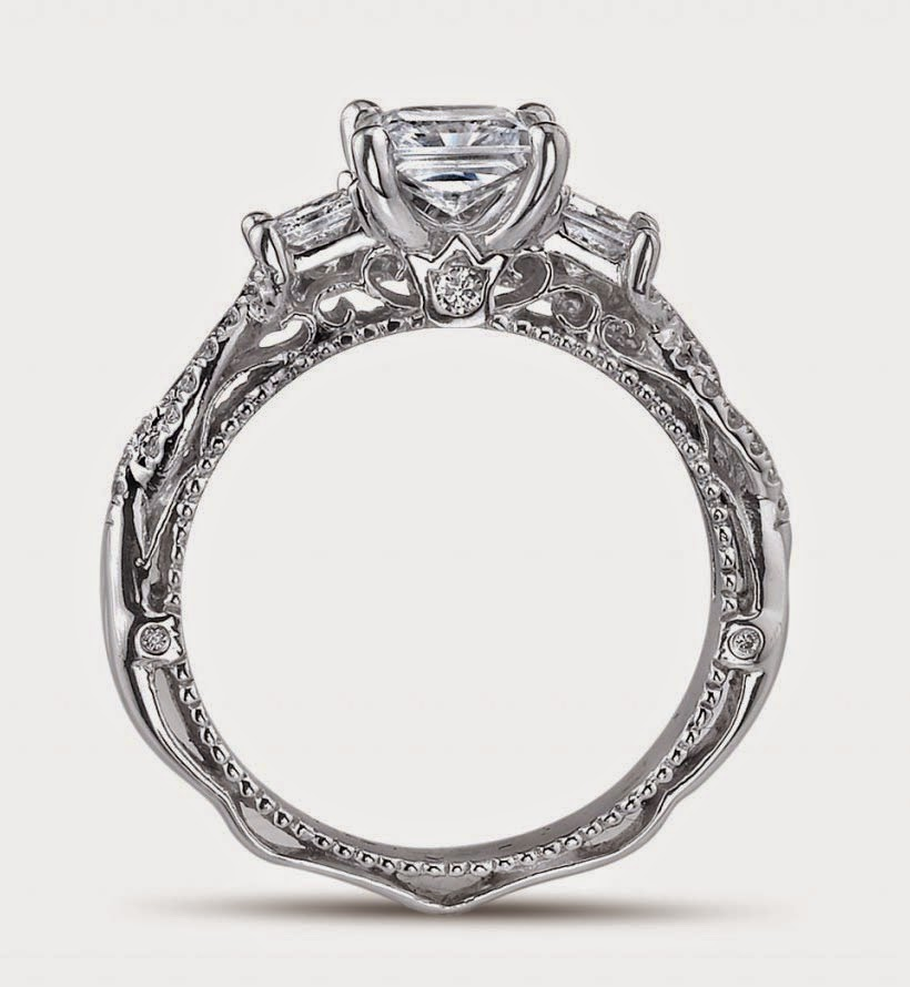 Vintage Diamond Wedding Ring Wave for Women Design pictures hd