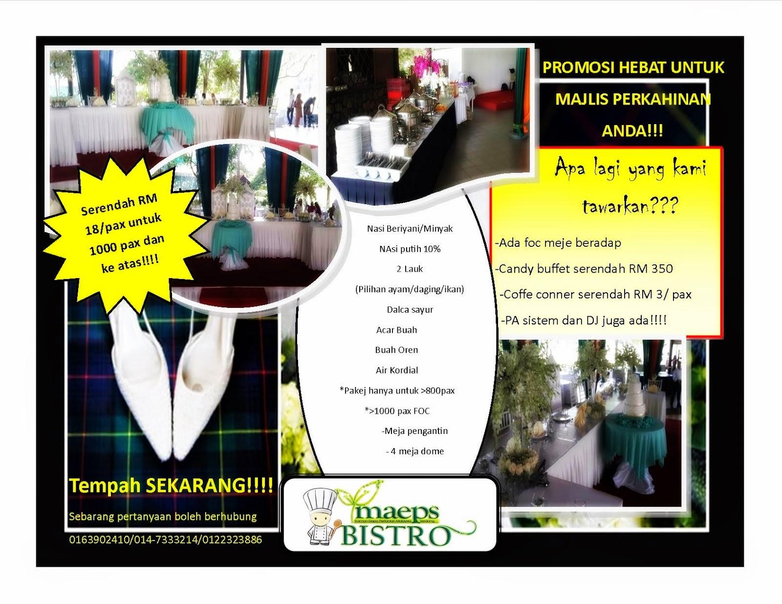 Promosi Majlis Perkahwinan