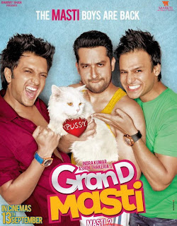 Grand Masti (2013) Movie Poster