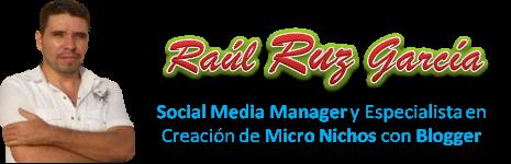 Blog de Raul Ruz Garcia y Oportunidades de Negocio