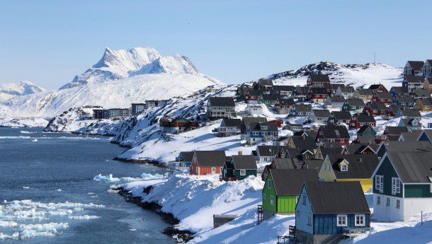 Nuuk, A village in Greenland