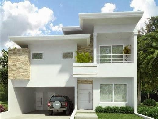 Fachadas de casas de sobrados veja 50 modelos lindos for Modelos de fachadas de casas