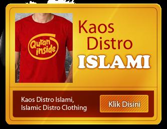 Kaos Distro Islami