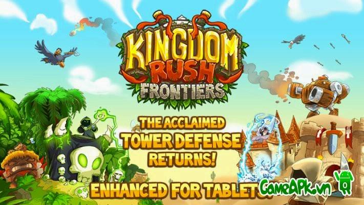 Kingdom Rush Frontiers v1.3.1 hack full kim cương cho Android