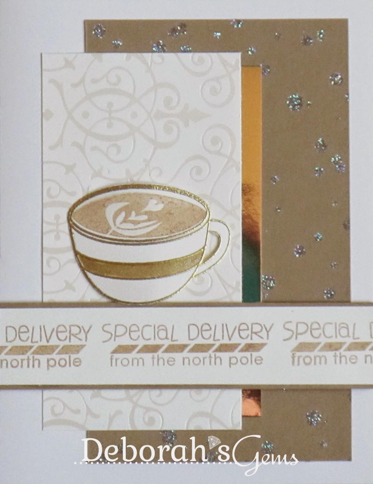 Special Delivery - photo by Deborah Frings - Deborah's Gems