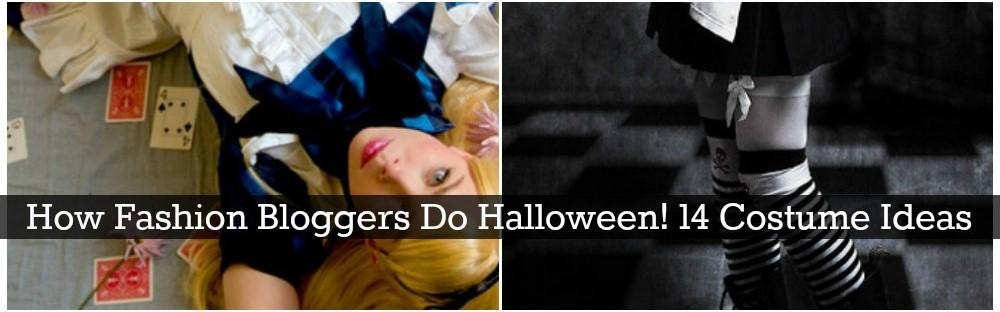 How Fashion Bloggers Do Halloween! 14 Costume Ideas