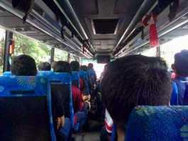 Tips Menghindari Mabuk Saat Naik Bus