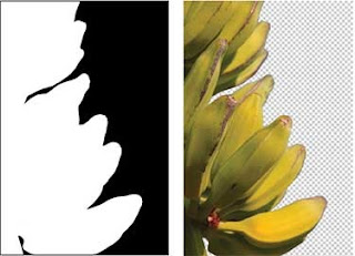 strategi untuk membuat layer mask, belajar photoshop, photoshop pemula, layer mask,pisang