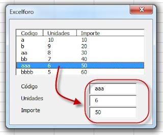 VBA: Recuperar un dato de un elemento seleccionado de un ListBox.