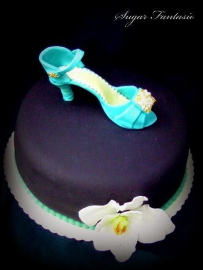 Cukorcipő torta