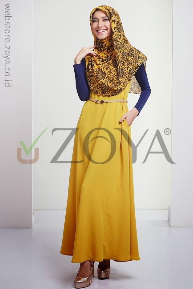 18 Contoh Model Baju Muslim Zoya Terbaru Dan Terbaik