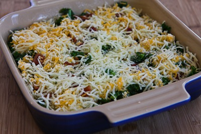 ... and cheese kale bacon and cheese breakfast casserole recipe yummly