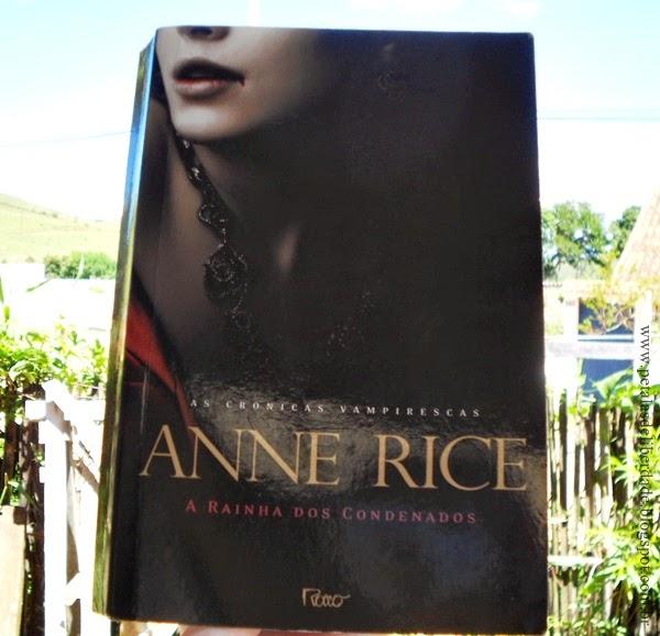 Resenha, livro, A rainha dos condenados, Anne Rice, capa. vampiros