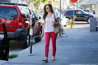 Minka Kelly in Hollywood