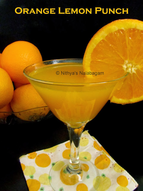 Orange Lemon Juice