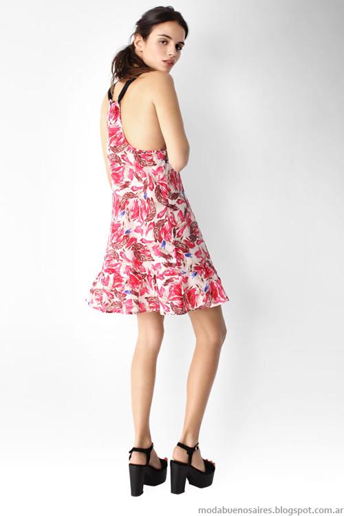 Moda verano 2014 Ayres vestidos