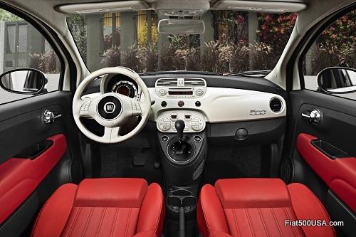 2014 Fiat 500 Dash
