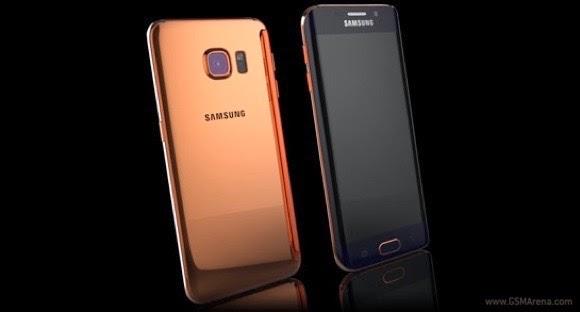 Samsung S6 dan S6 Edge yang Dibalut Emas Murni