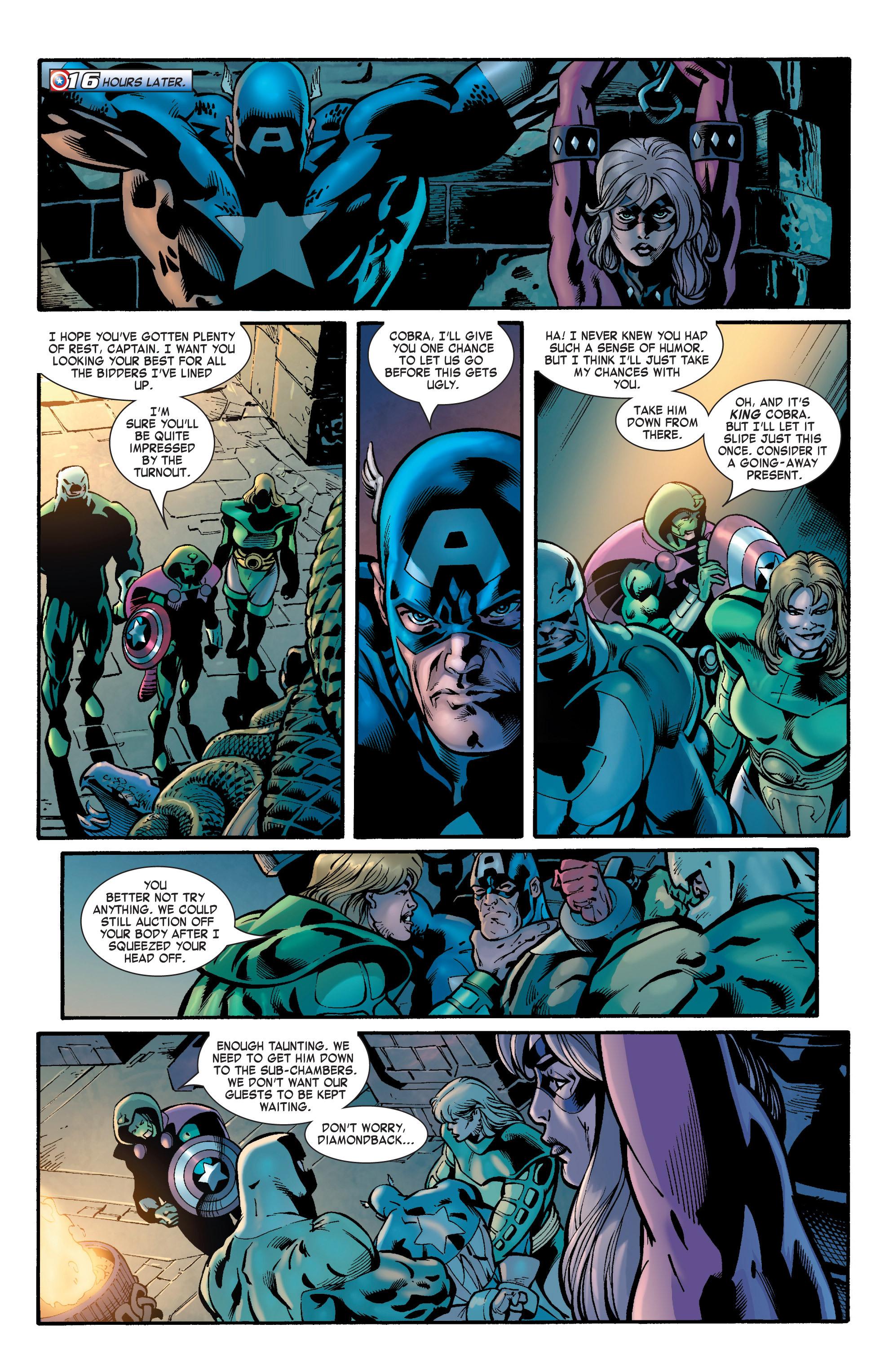 Captain America (2002) Issue #31 #32 - English 5
