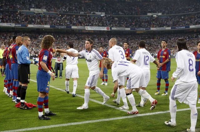 Real Madrid vs Barcelona