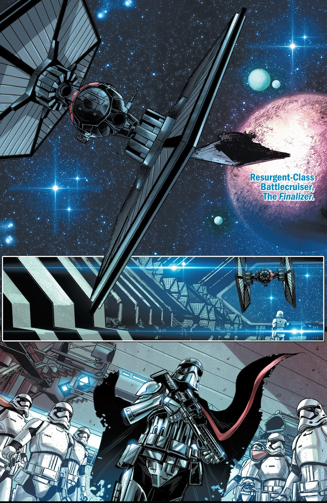 Journey to Star Wars: The Last Jedi - Captain Phasma Issue #4 #4 - English 19