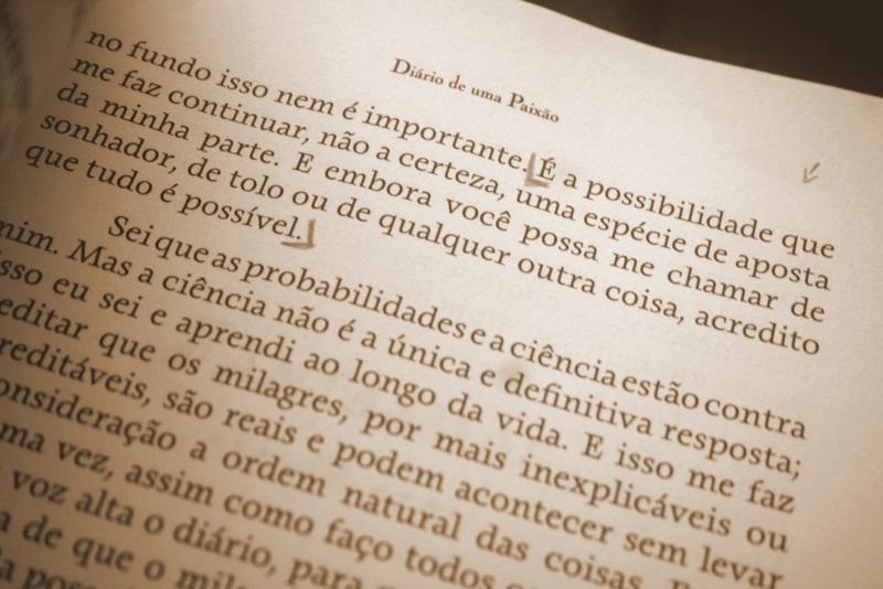 Tag Diário De Uma Paixão Livro Frases