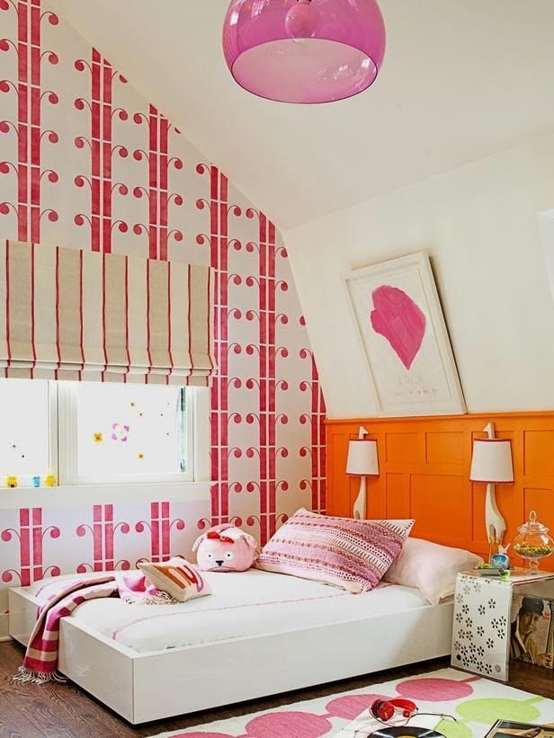 stylish hot pink bedrooms designs
