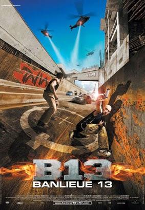 Banlieue 13 2004 poster