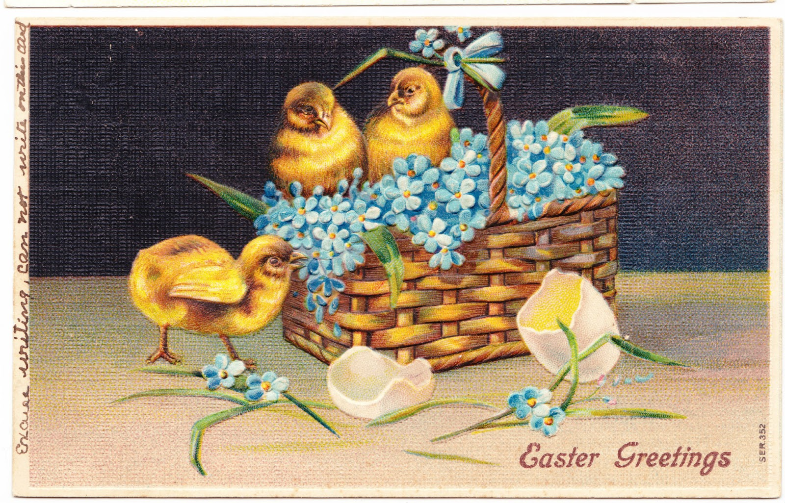 Papergreat: 5 awesome vintage Easter postcards (aka The Cute Chicks Gallery)