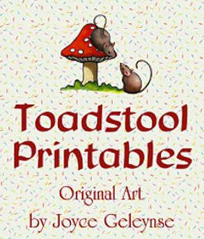 Toadstool Printables