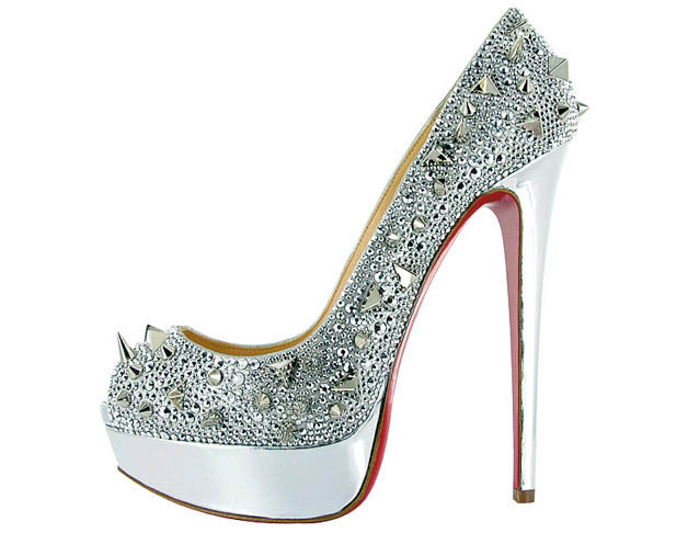 snake skin sequined glitter pumps louboutin
