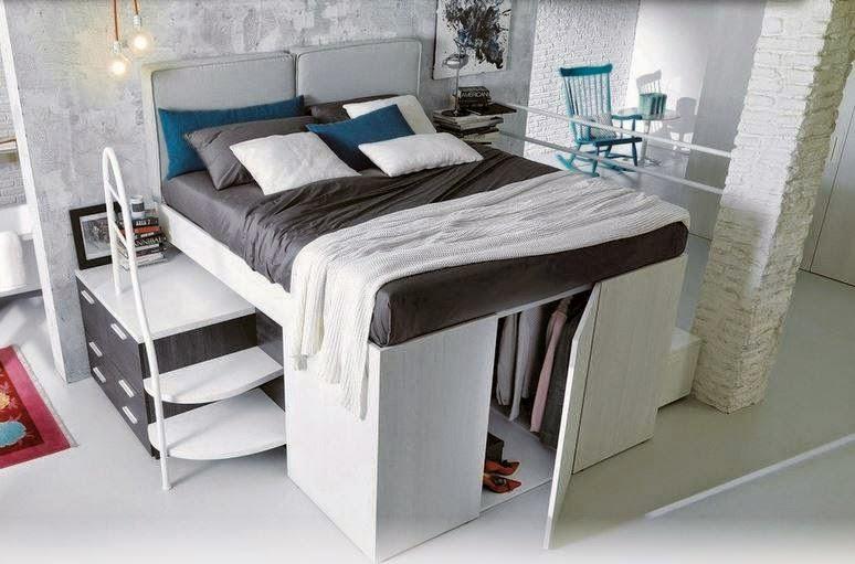 Arredamenti ballabio lissone la fusione tra il letto e l for 4 piani di camera da letto