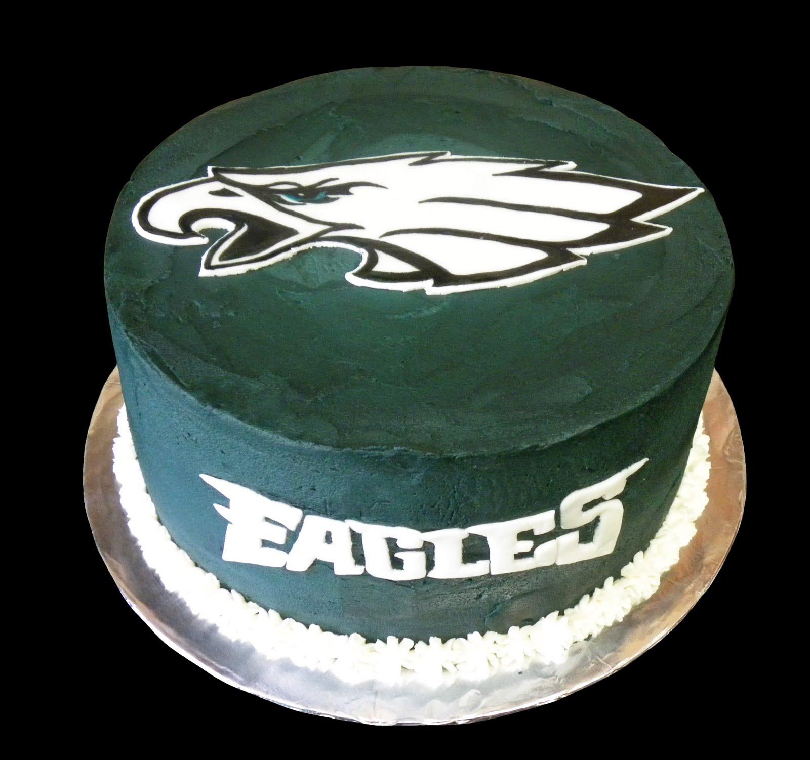 philadelphia eagles birthday cakes