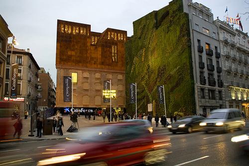 Ciudad observatorio paisaje vertical for Historia de los jardines verticales