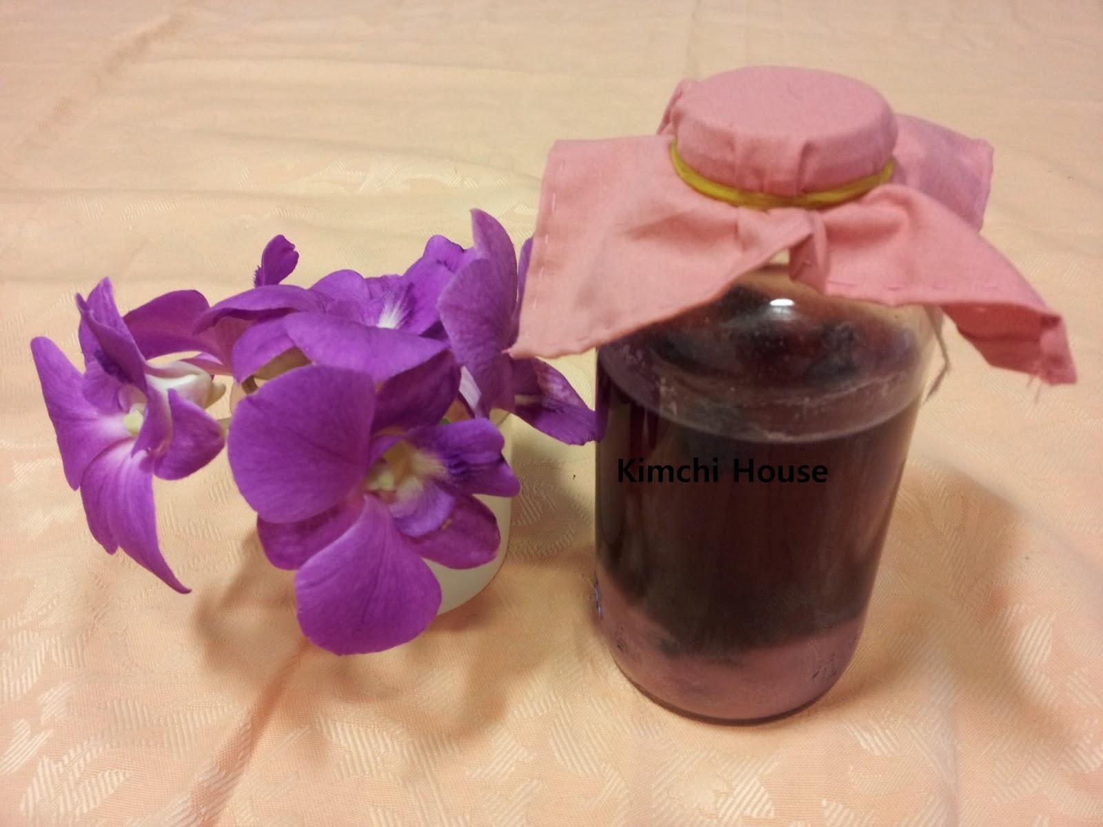 how to make blueberry vinegar