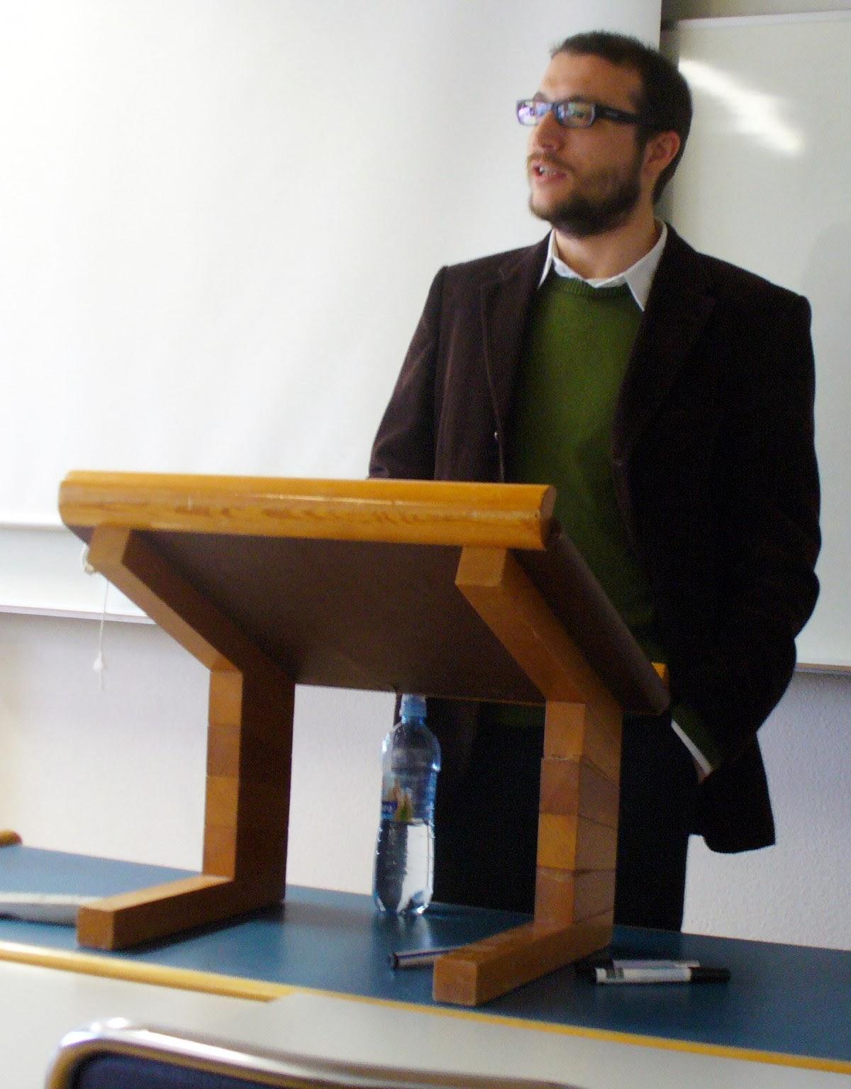 Daniel Vázquez, Máster en Literaturas Hispánicas UAM