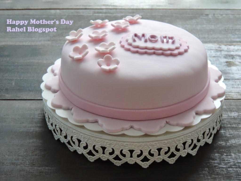 Kek Fondant Mother's Day