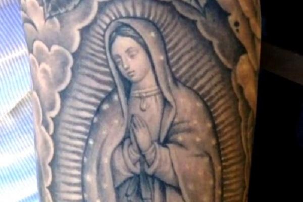 Justin Bieber se tatúa a la Virgen de Guadalupe en el brazo