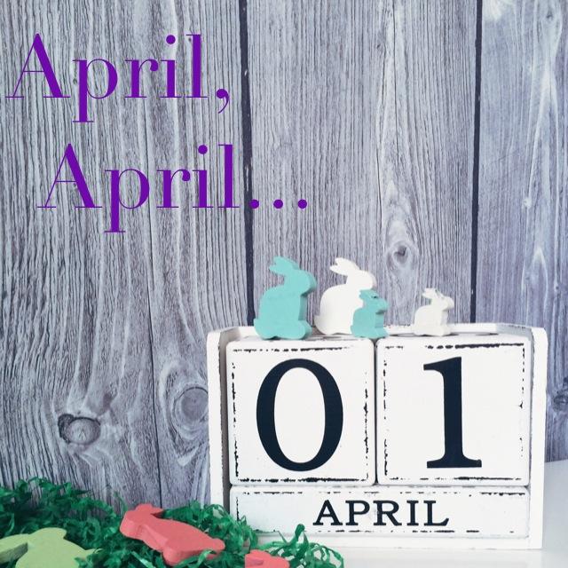 april april grinsestern