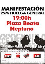 29M huelga general, manifestación