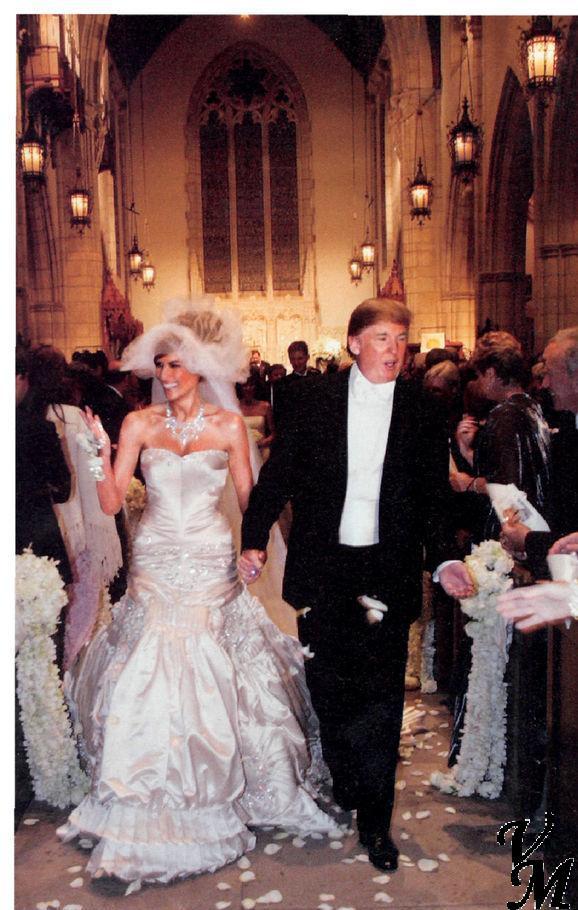 Melania Trump in Christian Dior