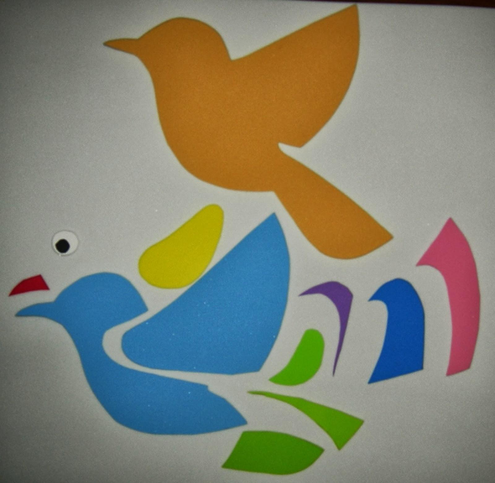 Arte Gabrielle: DECORACION PRIMAVERAL - Flores y Pájaros de Foamy ...