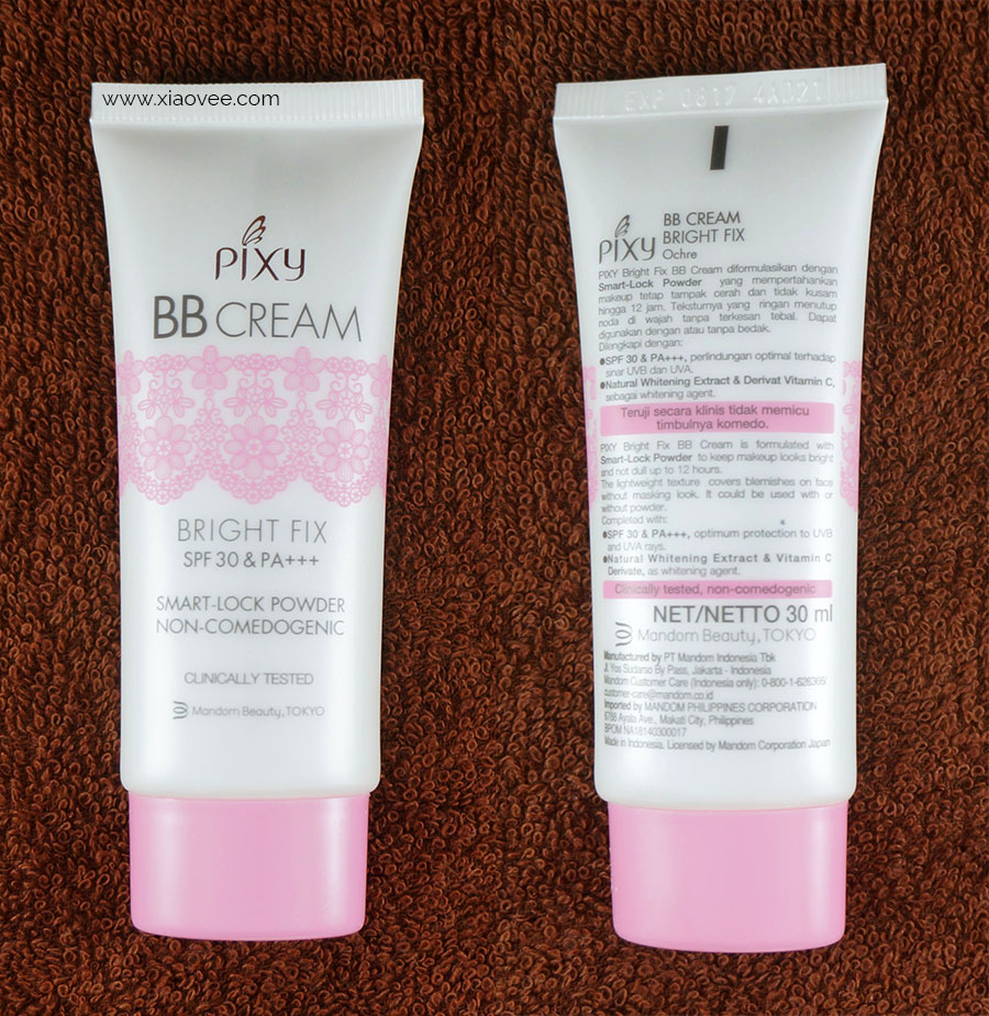 Review PIXY Bright Fix BB Cream, Best local BB Cream, Top Indonesian BB Cream