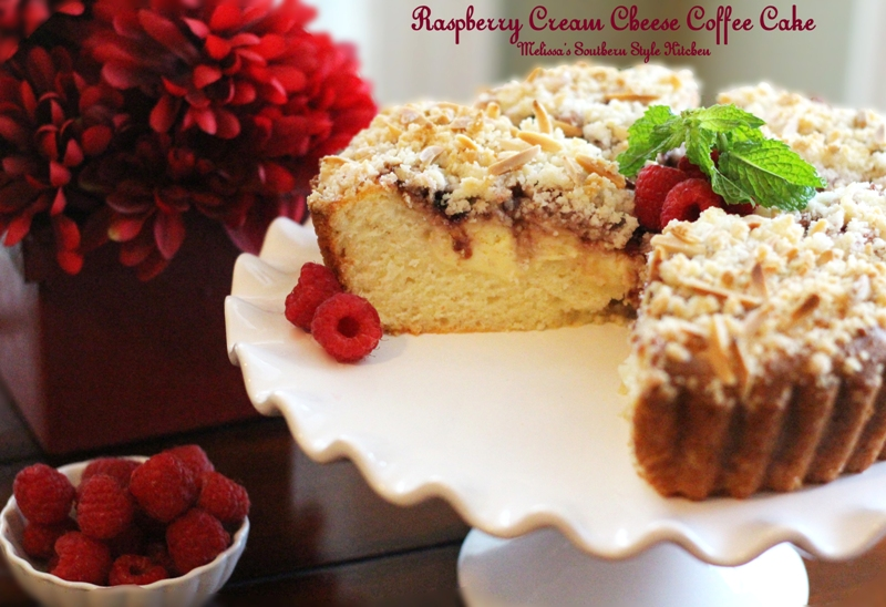 Melissa's Southern Style Kitchen: Raspberry Cream Cheese Coffee Cake