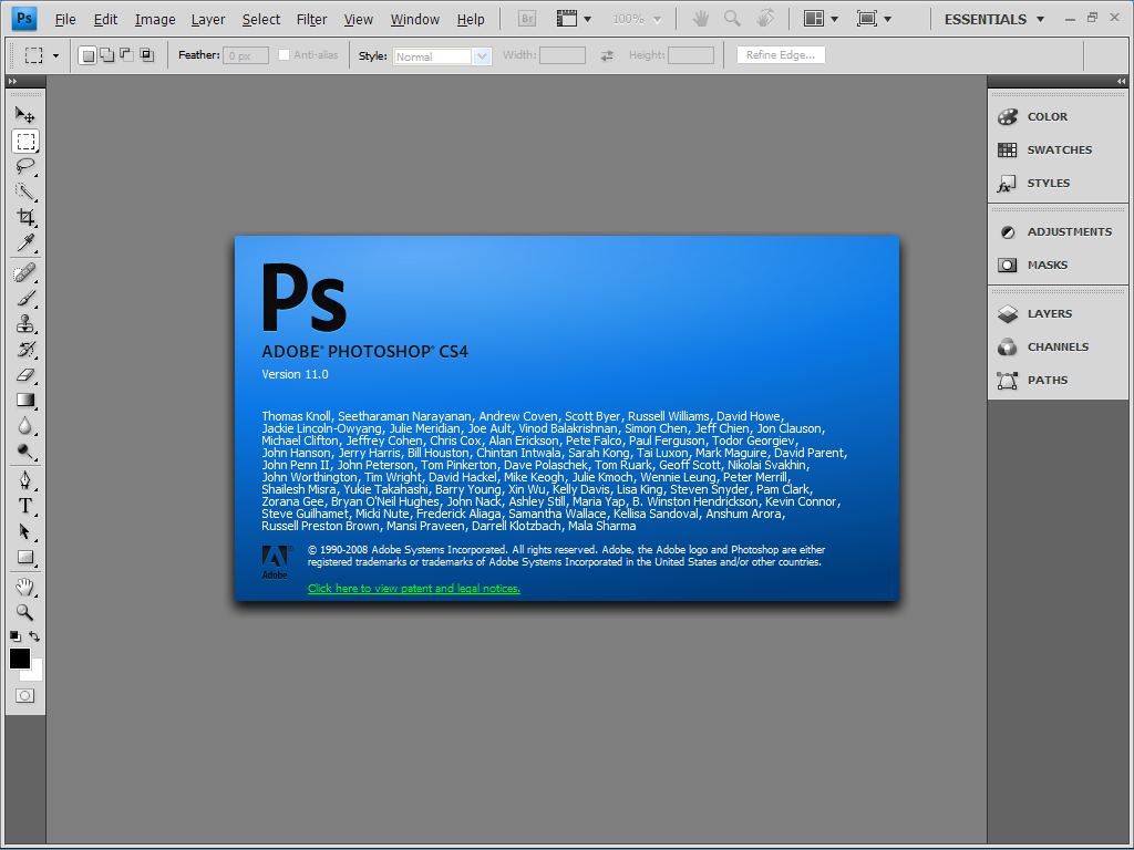 Download Photoshop CS 4 free full version 32 & 64 bit for windows 7 8