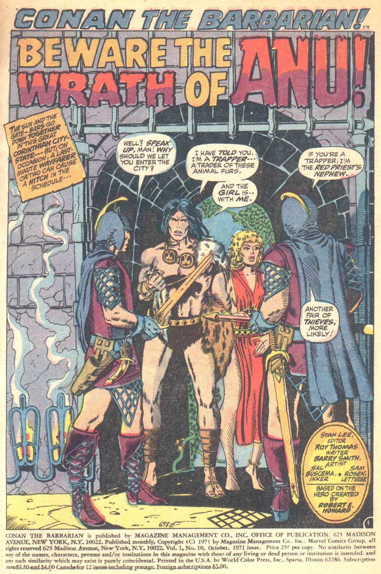 Conan the Barbarian (1970) Issue #10 #22 - English 2