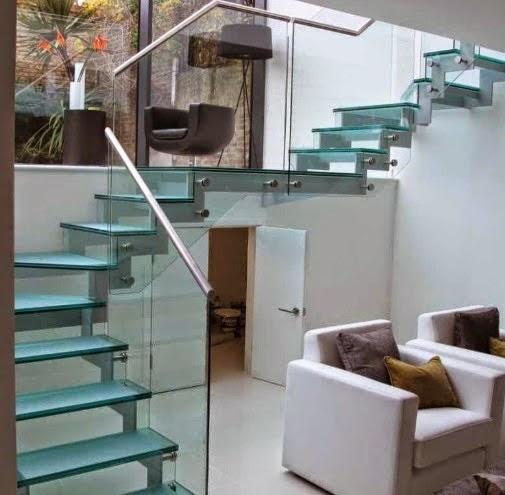 Gambar tangga rumah modern