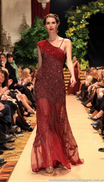 Vestidos 2014 Moda Jorge Ibañez colección.